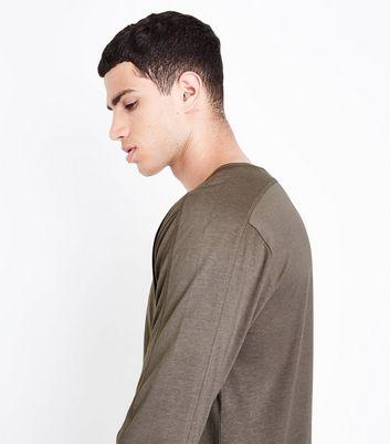 Yellow Longline T-Shirt New Look