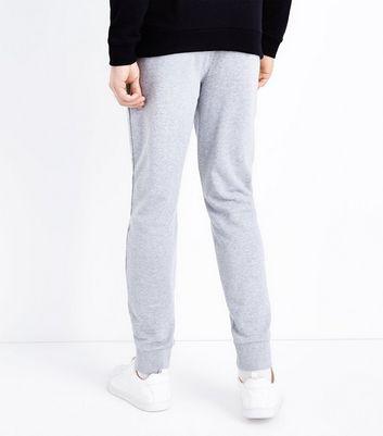 Grey Marl Joggers New Look