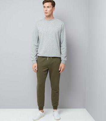 Khaki Joggers New Look