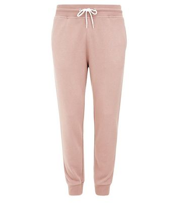 Deep Pink Joggers New Look