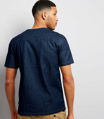 Navy Baseball Shirt New Look