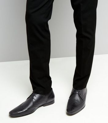 black-leather-textured-brogues