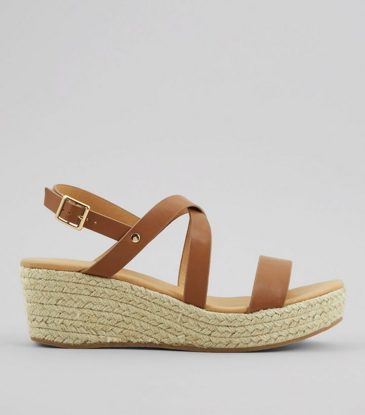 879db3c6a97 Tan Platform Espadrille Wedge Heels Add to Saved Items Remove from Saved  Items