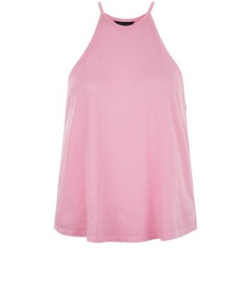 Bright Pink Cami Top New Look