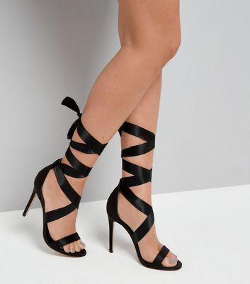 black-satin-ribbon-tie-heels