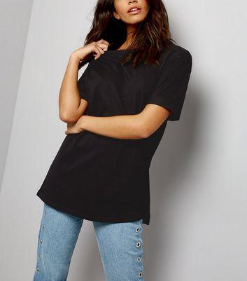 oversized t shirt womens black