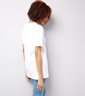Tall White Oversized T-Shirt New Look