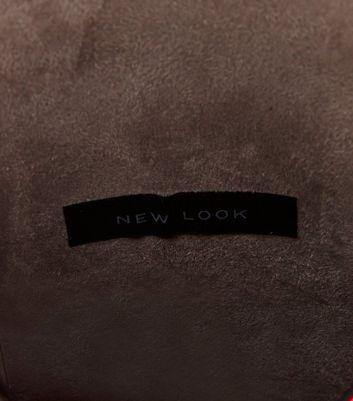 Neon Pink Studded Cross Body Bag New Look