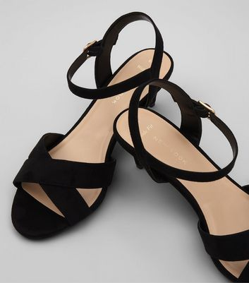 wide-fit-black-suedette-cross-strap-kitten-heels