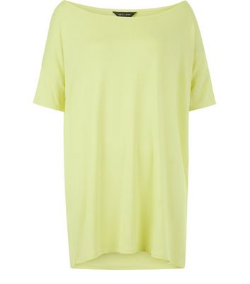 Yellow Off The Shoulder Top New Look