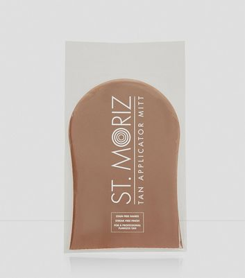 Brown St Moriz Hand Mitt New Look