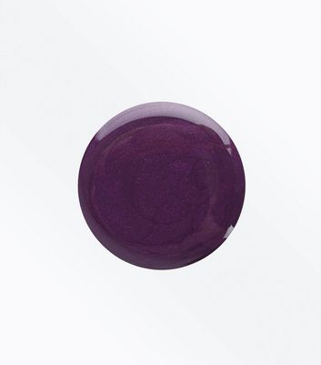 Dark Purple Gel Nail Polish New Look