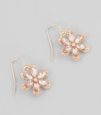 Parity Rose Gold Earrings New Look Up To 79 Off