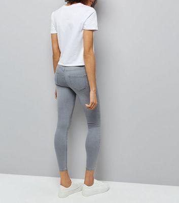 Grey Super Soft Super Skinny Jenna Jeans New Look