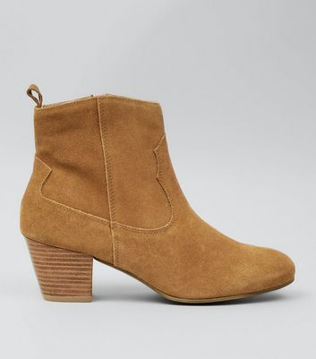 tan-suede-western-ankle-boots