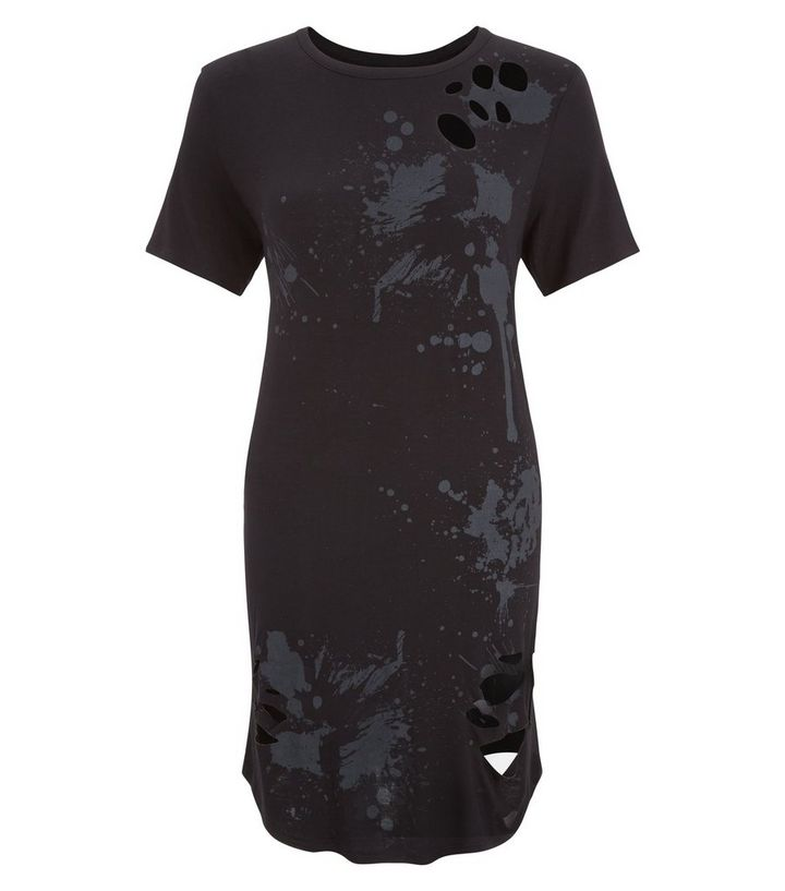 Home · Womens · Clothing · Dresses · Cameo Rose Black Ripped Tie Dye T-Shirt  Dress. ×. ×. ×. Shop the look 7404f61d5