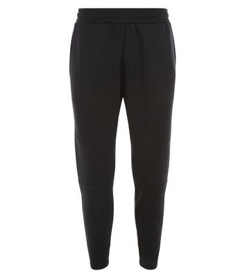 Black Seam Detail Jogging Bottoms New Look