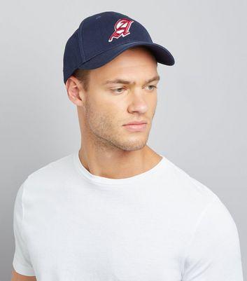Navy A Cap New Look