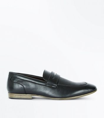 Black Loafers New Look