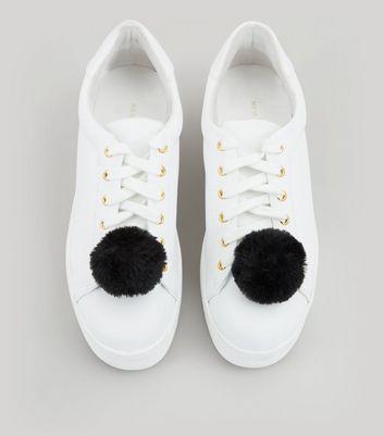 Black Pom Pom Shoe Clips New Look