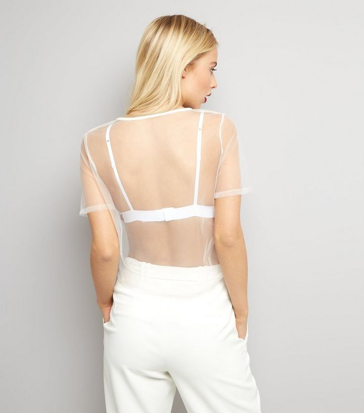 9d5318f1380d72 ... Parisian White Rose Embroidered Mesh Crop Top. ×. ×. ×. Shop the look