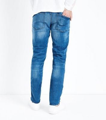 Blue Slim Leg Jeans New Look