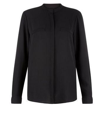 JDY Black Long Sleeve Shirt New Look