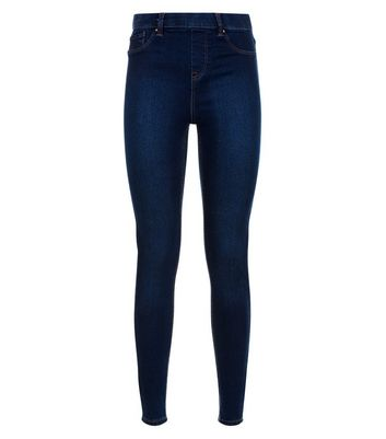 Tall Blue Jeggings New Look