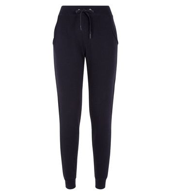 Black Slim Leg Joggers New Look