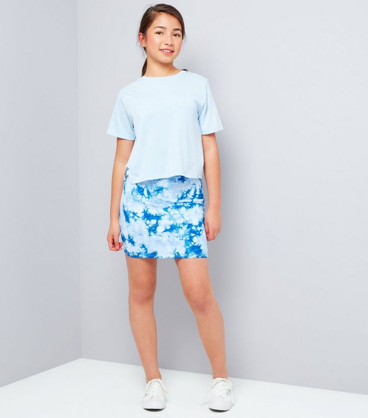 906825a7f2 ... Teens Blue Tie Dye Tube Skirt. ×. ×. ×. Shop the look