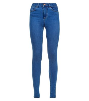 Tall Blue Super Soft Super Skinny Jeans New Look