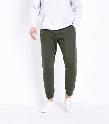 Khaki Joggers New Look