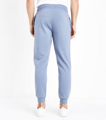Pale Blue Joggers New Look