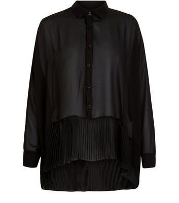Mela Black Batwing Sleeve Blouse New Look