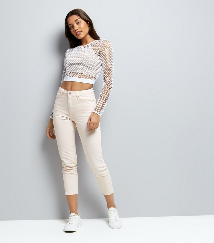 59c5479f2a01 ... White Fishnet Crop Top. ×. ×. ×. Shop the look