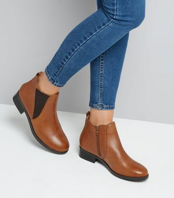 tan-leather-elasticated-side-chelsea-boots