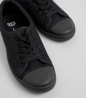teens-black-lace-up-school-trainers