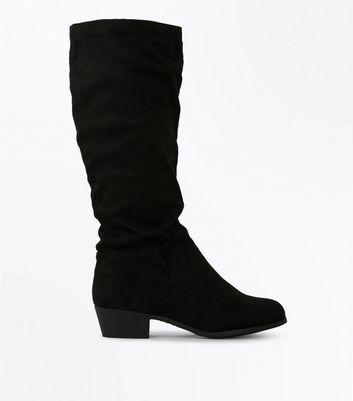 Women S Knee High Boots Flat Knee High Boots New Look