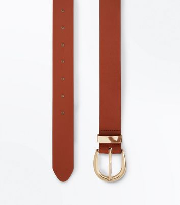 Tan Leather Jeans Belt New Look