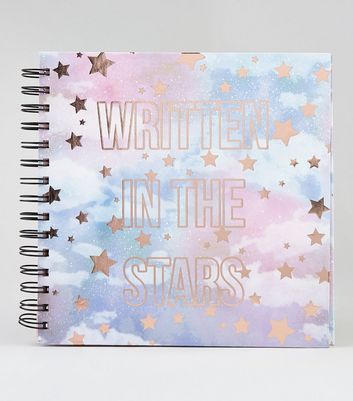 Multicoloured Slogan Print Scrapbook New Look