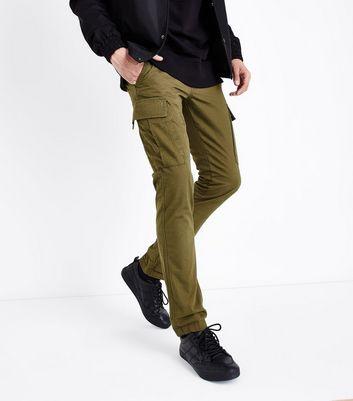 Khaki Cargo Trousers New Look