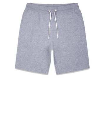 Grey Jersey Shorts New Look