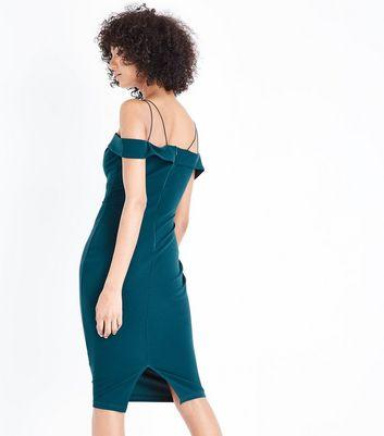 AX Paris Teal Strappy Midi Dress New Look