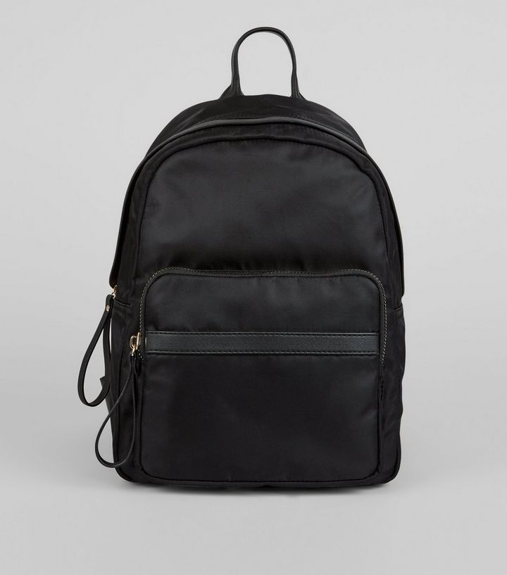 Black Utility Backpack   New Look c076d6cf7f