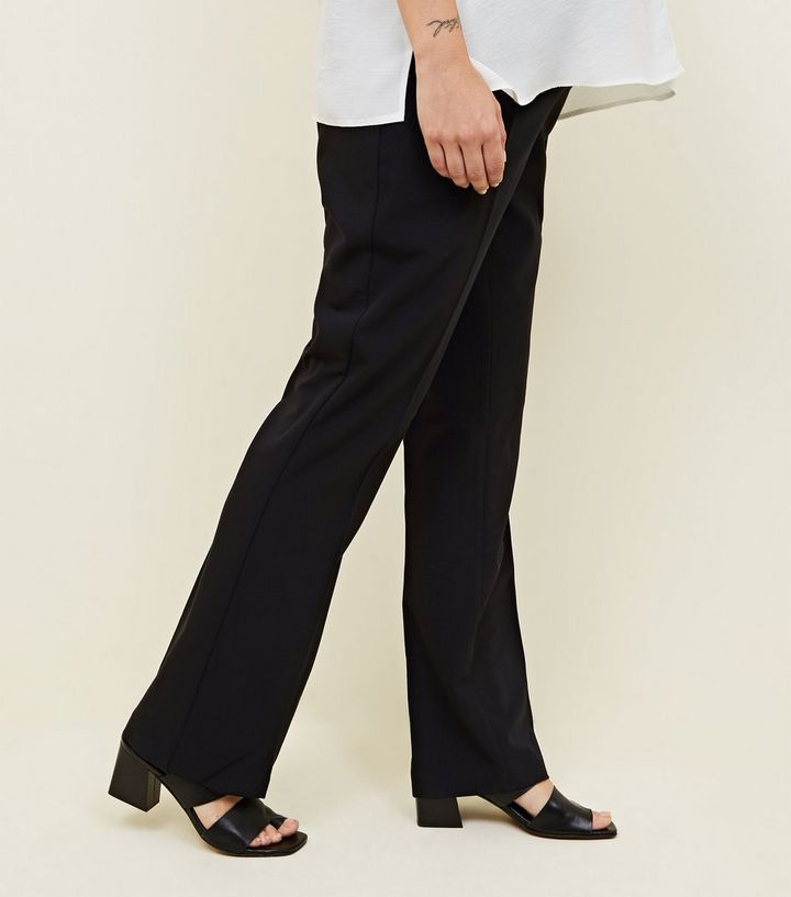 1a53e6a1b0d Maternity Black Over Bump Bootcut Trousers | New Look