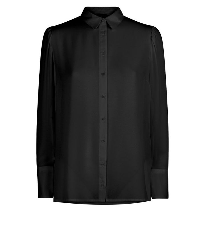 748ac55702822e ... Black Chiffon Long Sleeve Shirt. ×. ×. ×. Shop the look
