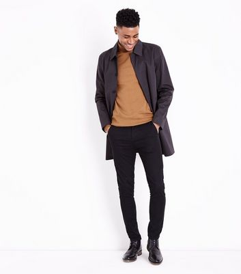 Camel Roll Neck Jumper New Look