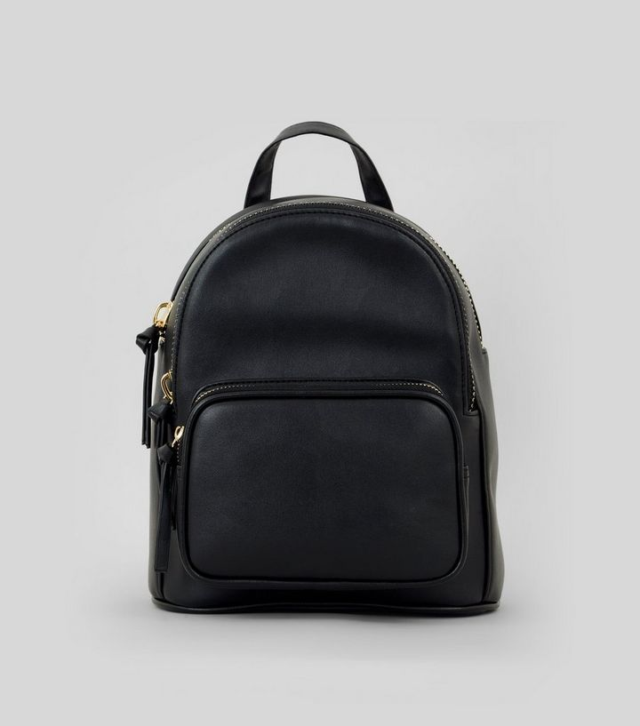 4cbd23d8c7 Black Mini Backpack