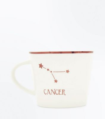 Shell Pink Cancer Zodiac Mug New Look