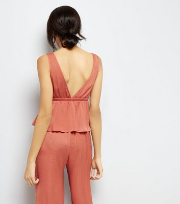 Tall Pink Pyjama Cami New Look
